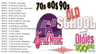 Top Best Old School Slow Jams Mix R&B & Soul 70's 80's & 90's || Greatest R&B Soul Songs Ever