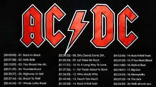 ACDC Best Rock Songs Playlist 2018 - ACDC Greatest Hits [Full Album]