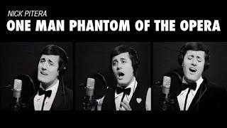 One Man Phantom of the Opera (Medley Cover) Andrew Lloyd Webber Nick Pitera