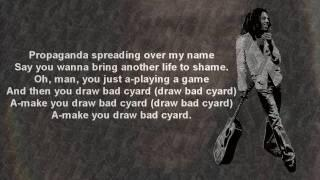 Bob Marley - Bad Card (w/Lyrics) HD