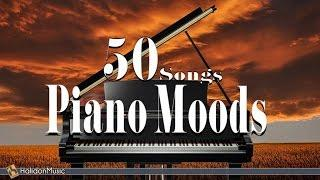 Piano Moods - 50 Songs | Classical Music & Piano Pieces