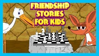 Friendship Stories For Children | Moral Stories For Kids | English Story Collection
