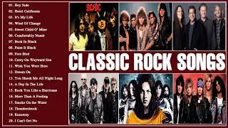 Best Classic Rock Songs Hits Of All Time | Greatest Classic Bands Rock 70's 80's 90's Playlist