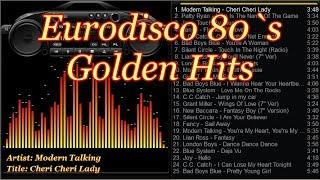 Eurodisco 80`s Golden Hits