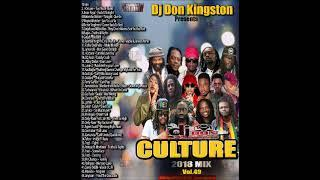 Dj Don Kingston Culture Mix 2018 Vol 49
