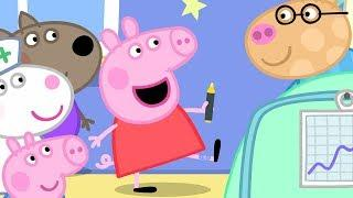 Peppa Pig English Episodes in 4K | Peppa's Hospital Visit! #PeppaPig