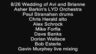 8/26 Wedding of Avi and Brianne Meal Music - LYD Orchestra