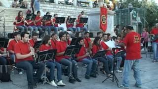 Video Agrinio Band in Athens European Music Day 19-6-2012